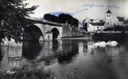77 TRILPORT Le Pont Sur La Marne Et L´Eglise Cpsm Petit Format épreuve éditeur Commande Quincaillerie VERGNOLLE - France