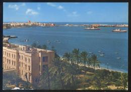 Libia. Tripoli *View On The Sea Front* Ed. Rotalcolor Nº 17752. Circulada 1966. Sello Desprendido. - Libia