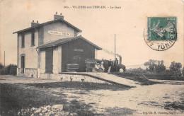 89 - Villiers-sur-Tholon - La Gare Animée - Autres Communes