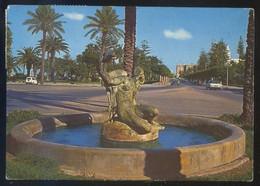 Libia. Tripoli *Gazelle Fountain* Ed. Tecnograf Spa. Circulada 1972. - Libia