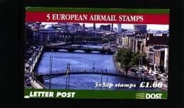 IRELAND/EIRE - 1999  £. 1.60  BOOKLET  EUROPEAN AIRMAIL   MINT NH - Libretti