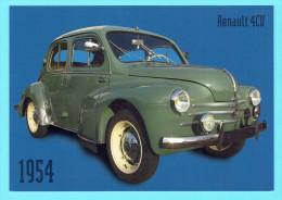 CPM Renault 4 Cv 1954  Auto Ancienne Vehicule Ancien - PKW