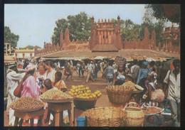 Mali. Bamako *Le Marché Avec Son Animation...* Ed. D. Cisse Nº AF-022. Nueva. - Malí