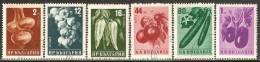 Bulgaria 1958 Mi# 1079-1084 A Used - Vegetables - Usados