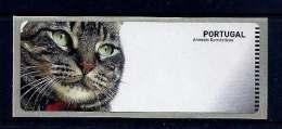LSJP Portugal 2005 - Domestic Animals Gato Cat - ATM Labels CROUZET No Face Value - Vignettes D'affranchissement (ATM/Frama)