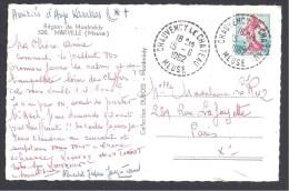 MEUSE - Cachet Pointillé De CHAUVENCY LE CHATEAU - 1961-....
