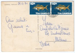 GAMBIA - BATHURST / THEMATIC STAMPS - FISH - Gambia