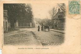 DOMAINE DE PINON ENTREE PRINCIPALE - France