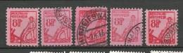 Deutschland 1945 Soviet Zone Mecklenburg-Vorpommern 8 Pf Typen/types O - Soviet Zone