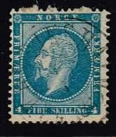Norwegen 1856, Michel# 4 O - Norvegia