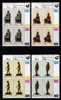 SOUTH AFRICA, 1992, MNH Control Block Of 4, Anton Van Wouw Sculptures,, M 855-858 - South Africa (1961-...)