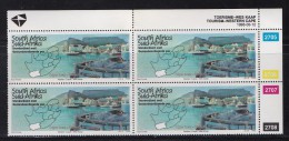 SOUTH AFRICA, 1995, MNH, Control Block Of 4, Tourism Cape Province M 955 - South Africa (1961-...)