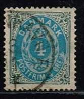 Norwegen 1875, Michel# 23 I YA O - Norvège