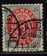 Norwegen 1875, Michel# 25 II YB O - Norvège