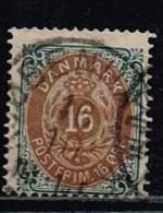 Norwegen 1875, Michel# 27 I YA O - Norvège