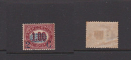 ITALY 1878 Service Stamp Surcharged 1,00L. Mint *  Sc.41 (Sa.33) - 1861-78 Victor Emmanuel II.