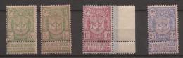 OBP/COB 68 - 70 + 68a Exposition Anvers Postfris / Neufs Sans Charnière / MNH / ** - 1894-1896 Exhibitions