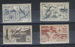 TIMBRES  MAROC   Du  N° 75/8  Neuf ** Poste Aérienne - Morocco (1956-...)