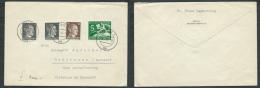 GERMANIA TERZO REICH LETTERA 1942 DA KOLN A ROHRBRUNN - Lettres & Documents