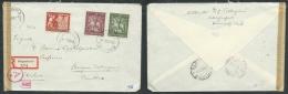 GERMANIA TERZO REICH LETTERA 1943 DA KLANGENFURT A STRIGNO - CENSURA - Lettres & Documents