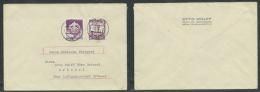 GERMANIA TERZO REICH LETTERA 1943 GIORNATA SPORTIVA SA E PETER HENLEIN - Lettres & Documents