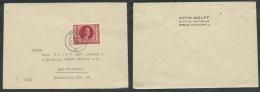GERMANIA TERZO REICH LETTERA 1944 DA KOLN A KREUZNACH - Lettres & Documents
