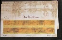X3 2007 Ancient Chinese Painting -18 Scholars Stamps Mini Sheet Music Bonsai Tea Wine Chess - Drinks