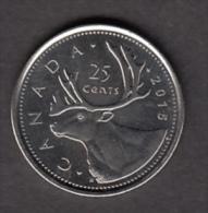 #AA, Canada, 25¢, 2015 - Canada