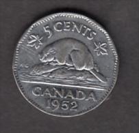 #AA, Canada, 5¢, 1952 - Canada