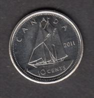 #AA, Canada, 10¢, 2011 - Canada