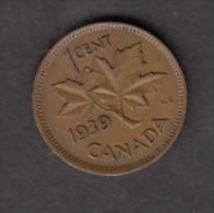 #AA, Canada, 1¢, 1939 - Canada