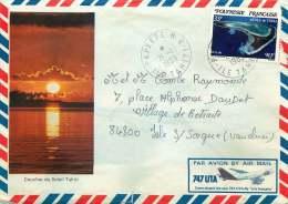 1983  Lettre Avion Pour La France  Yv 191 Seul - Briefe U. Dokumente