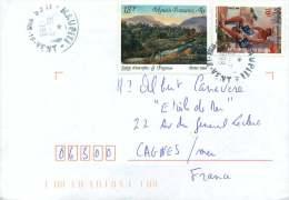 1999  Lettre Avion  Pour La France  Yv 503, 579 - Polynésie Française