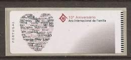 LSJP Portugal 2004 - Ano Internacional Familia - ATM Labels - CROUZET - No Face Value - Vignettes D'affranchissement (ATM/Frama)