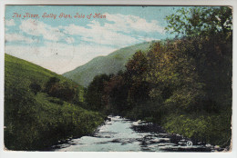 Old Postcard, The River Sulby Glen, Isle Of Man  (pk23027) - Isle Of Man