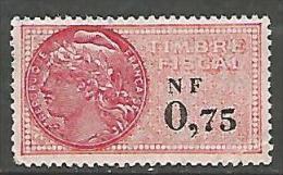 FISCALE  N� 332 NEUF ** SANS CHARNIERE / MNH