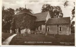 BULFORD - St Leonard's Church Raphael Tuck' & Sons) - Angleterre