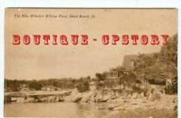 CT < THE ELLA WHEELER WILCOX PLACE - SHORT BEACH - DOS SCANNE - Etats-Unis