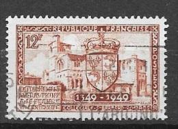 N° 839 FRANCE  - OBLITERE  -  COLLEGIALE ST BERNARD A ROMANS -  1949 - Usados