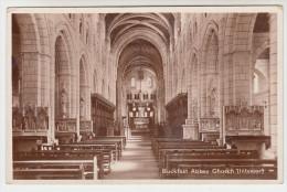 Old Postcard, Buckfast Abbey Chruch (pk23048) - England