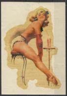 Hungary, Sexy Girl´60s(?). - Advertising