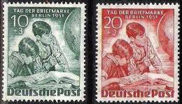 Tag Der Briefmarke Berlin 1951: Michel-Nr.80-81 ** Postfrisch MNH (Mi € 55.00) - Tag Der Briefmarke