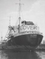 Chalutier Français ISLANDE - Photo Ancienne Originale / Vintage Photo - Bateau/ship/schiff - Bateaux