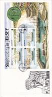 Jersey FDC 1992 Shipbuilding In Jersey Minisheet (L74-20) - Bateaux