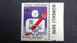 Türkei 2881 C **/mnh, Verkehrssicherheit - 1921-... Republic