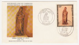 1974 - VIERGE D'AUTUN - 20 DECEMBRE - Camerun (1960-...)