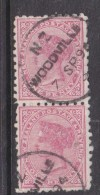 New Zealand: 1891-5, 1d, Die III, Perf 10. WOODVILLE 7 SP 94 C.d.s. - Used Stamps