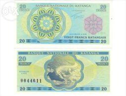 Katanga Katanga 20 Francs 20 Francs PRIVATE FANTASY 2014 - Billets