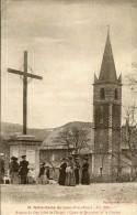 CPA 05 NOTRE DAME DU LAUS AVENUE DU GAP COTE DE L ANGE CROIX DE JERUSALEM ET LE CLOCHER 1920 - France