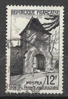 N° 921   FRANCE  -  OBLITERE  - PORTE DE FRANCE A VAUCOULEURS  -  1952 - France